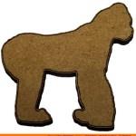 0018-ape-silverback Silverback Gorilla Shape (0018)