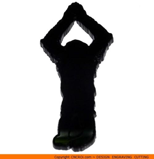 0025-orangutan Orangutan Shape (0025)