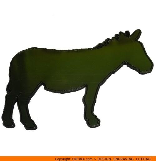 0056-donkey-side2 Donkey Side 2 Shape (0056)