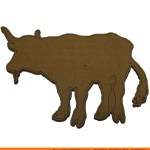 0074-bull-eating Bull Eating Shape (0074)