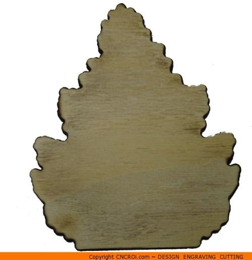 0127-tree-conifer-straight Straight Conifer Shape (0127)