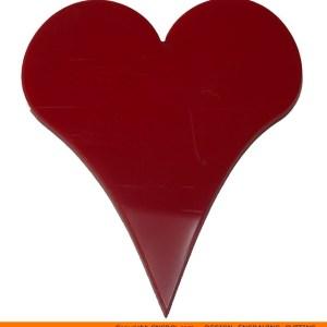 0136-heart-pointy Pointy Heart Shape (0136)