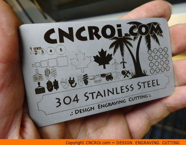 metal-business-card-x2 CNC Fiber Laser Cutting & Annealing Stainless Steel