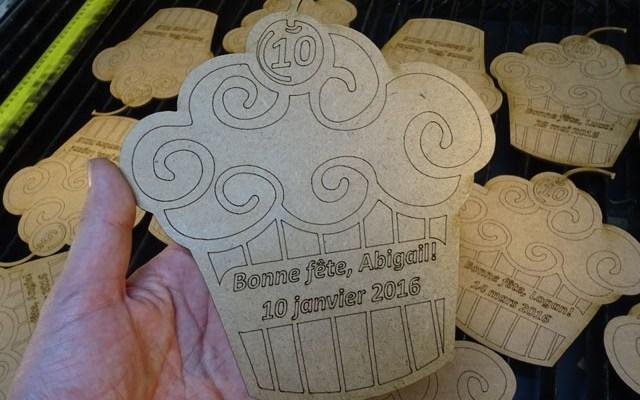 "wood-birthday-card-x2 Custom Wood Birthday Card: 1/8"" or 3 mm thick MDF laser engraved and cut"