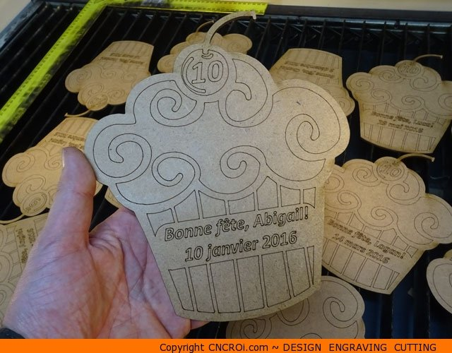 "wood-birthday-card-1 Custom Wood Birthday Card: 1/8"" or 3 mm thick MDF laser engraved and cut"