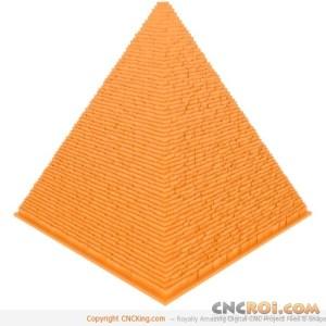3d-printed-pyramid Egyptian Pyramid