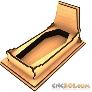 halloween-servingcoffin-cnc Halloween Serving Coffin