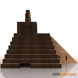 mayan-temple-bank-model-kit-3 Mayan Temple Bank