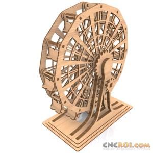 wood-laser-ferris-wheel-kit-1 Ferris Wheel B