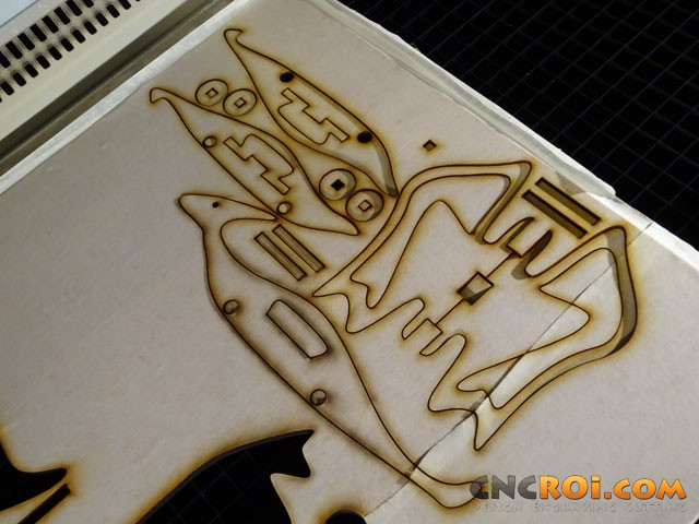 pterodactyl-5 Custom Pterodactyl Dinosaur Model: CNC Laser Cutting