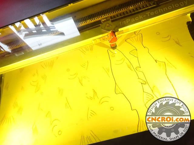 cnc-laser-fish-1 Fishing for Pine: CNC Laser Engraved & Cut Fish