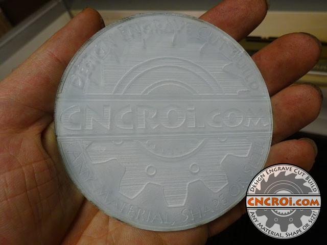 custom-branded-coaster-1 Custom Acrylic Coasters: Smoky VS Clear CNC Laser Engraved & Cut