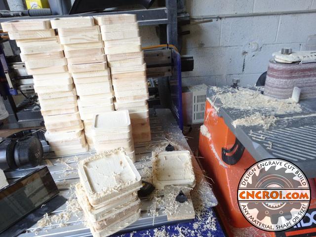 wedding-coaster-1 Custom Wedding Coasters: Pine with Branded Polycarbonate Inlay