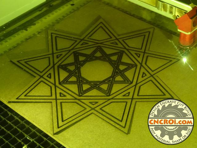 carving-mdf-1 V-Laser Carving MDF