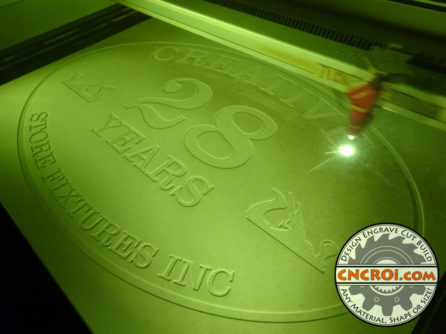 corian-sign-x5 Corporate Corian Sign: Laser Engraved and Paint Filled