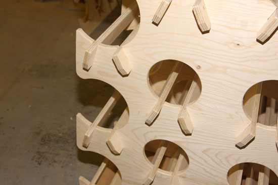 CNC Routing  Interlocking Panels and Frames