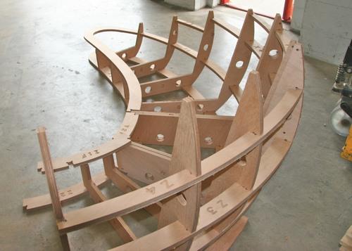 CNC Routing  Carbon Fibre Sofa