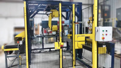 custom robotic automation manufacturing cell design