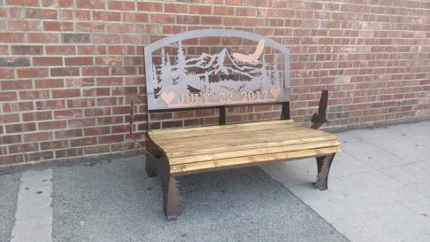 July 22 custom bench 2