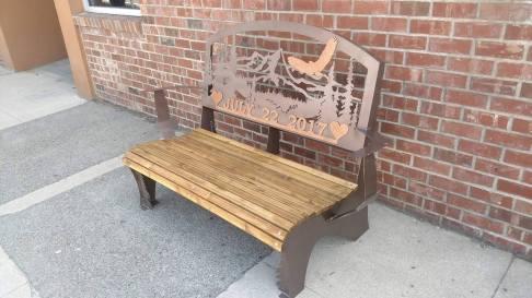 July 22 custom bench