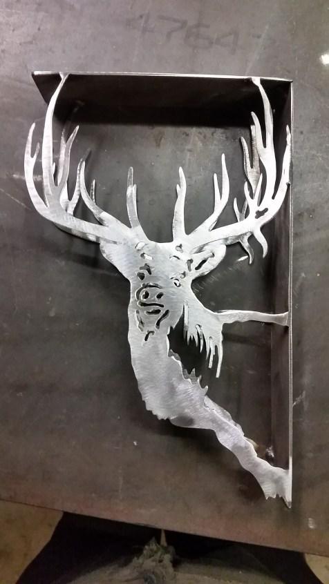 Elk bookshelf bracket