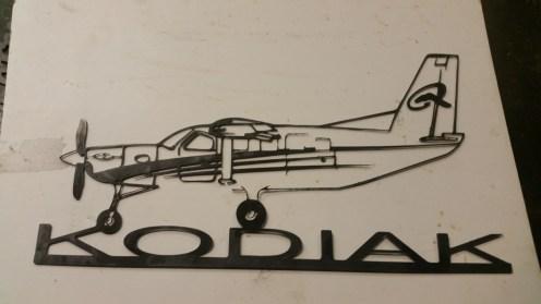 kodiak plane cut out