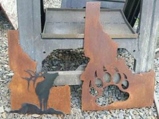 rusted idaho state custom orders