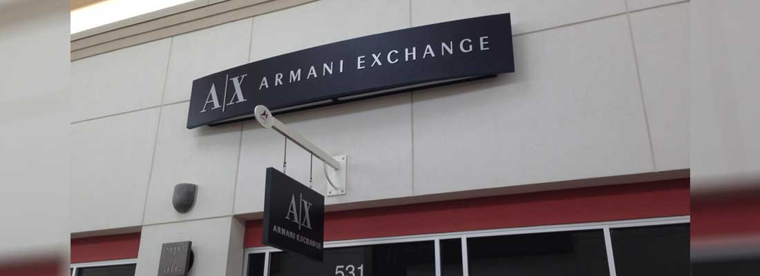 Armani Exchange | CND Signs