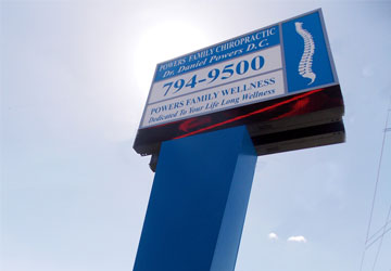 Illuminated Pole Sign | CND Signs