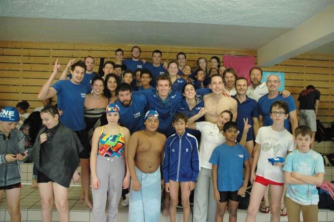 Groupe de nageur CNEP
