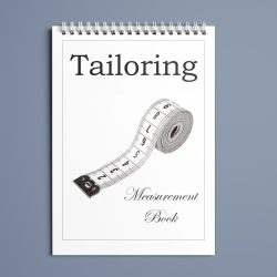 Tailors measuring book