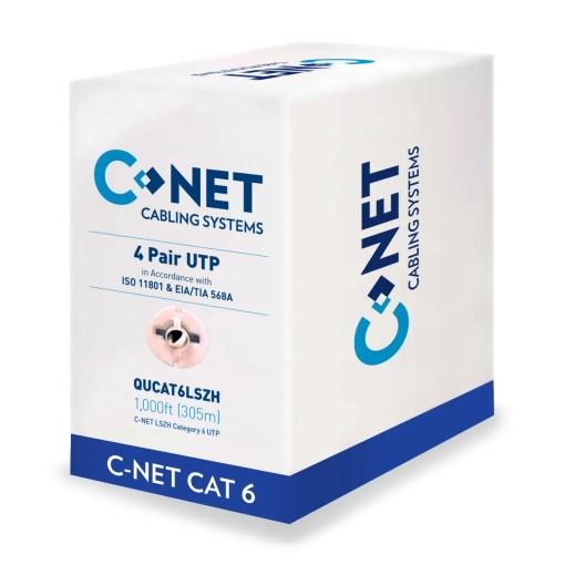 CNET CAT6 Indoors Blue Box