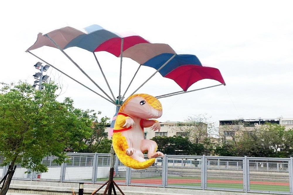 臺灣燈會「極限運動燈組」將移至大里運動公園內展出   匯流新聞網