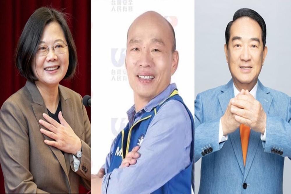 【匯流民調】選戰倒數!蔡英文正面聲量穩定領先 韓國瑜負面聲量降不了 | 匯流新聞網