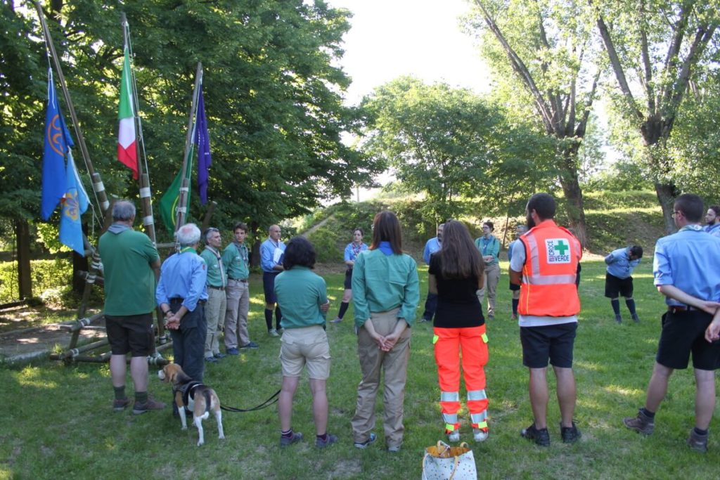scout CNGEI e corso di primo soccorso Veneto