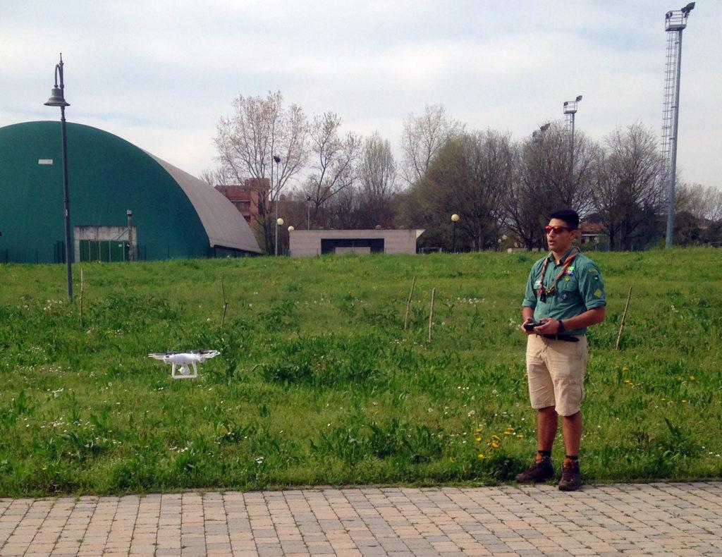 scoutismo e tecnologia droni - cngei