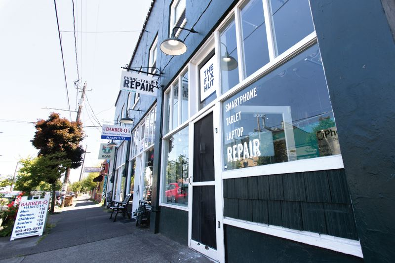 PORTLAND TRIBUNE: JAIME VALDEZ - Retailers in the building expect to remain if it is purchased by the theatre owner.