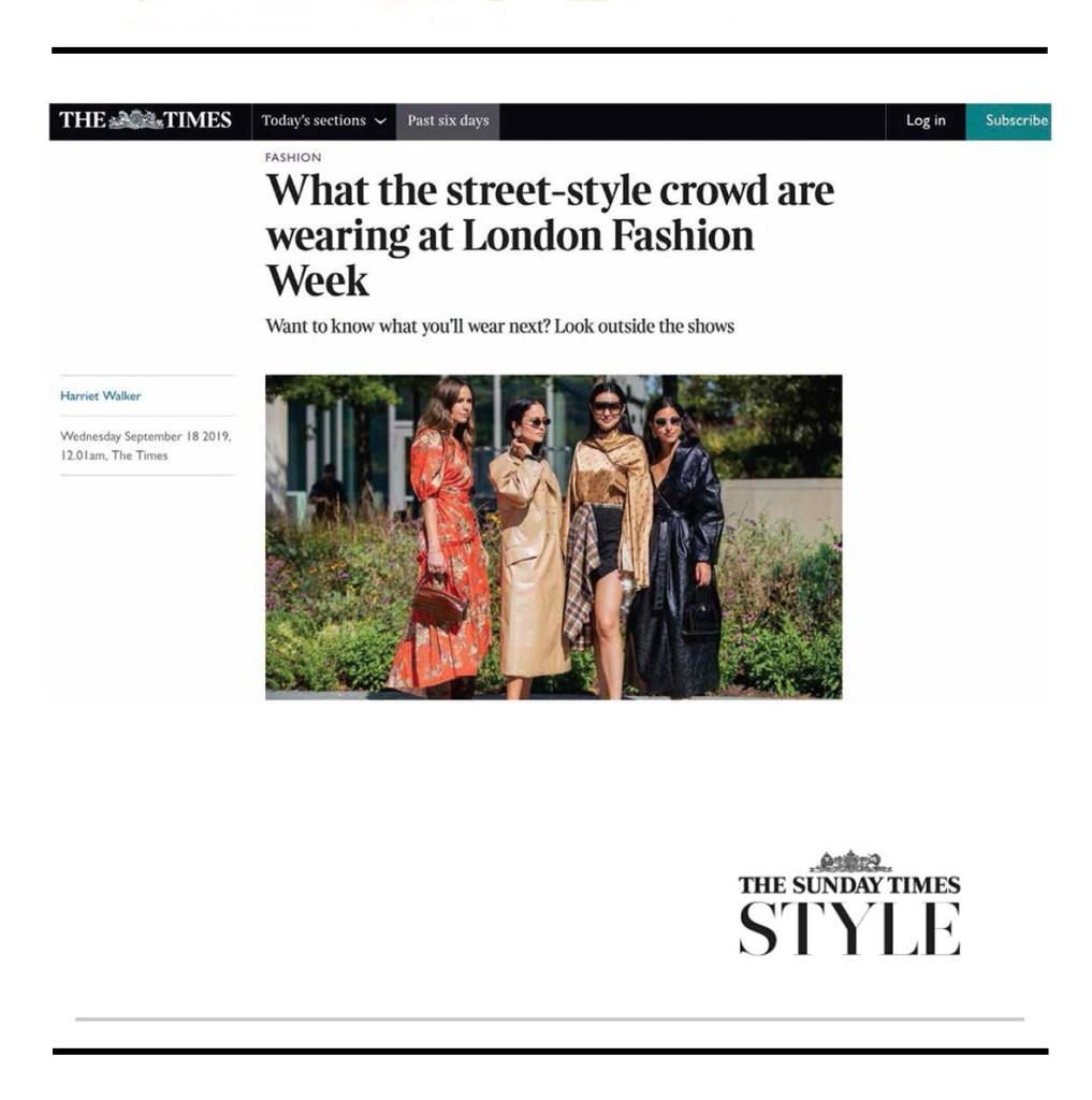 C.Nicol Bag Sunday Times Style