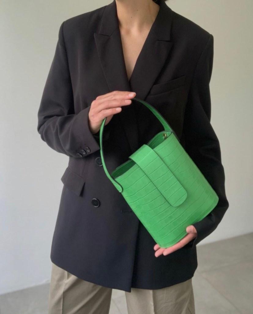 Lucy Alston C.Nicol Holly bucket bag