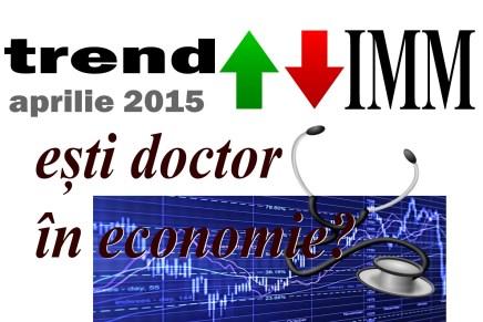 trend IMM: Esti doctor in economie?