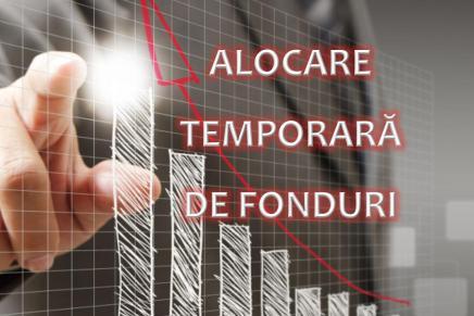 Fonduri alocate temporar pentru programe finanțate din fonduri structurale