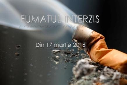 Fumatul INTERZIS din 17 martie, in spatiile publice inchise!