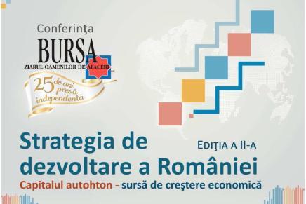 "Conferinta ""Strategia de dezvoltare a Romaniei"""