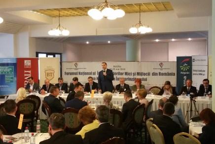 Cea de-a XXIII-a editie a Forumului National al IMM-urilor si Zilei Intreprinzatorilor