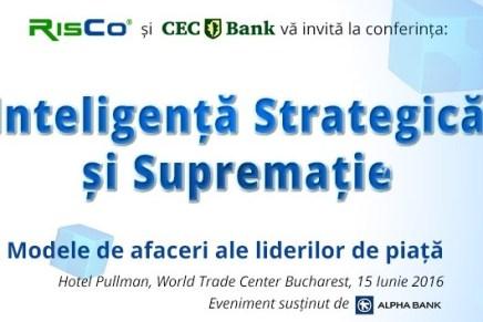"""Conferinta """"Inteligenta Strategica si Suprematie"""""""