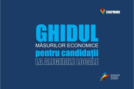 Ghidul masurilor economice pentru candidatii la alegerile locale