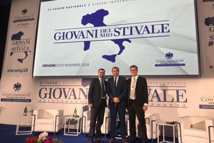 Florin Jianu participa in calitate de guest speaker la cea de-a 11a editie a Convenție anuale a Giovanni Imprenditori Confcommercio