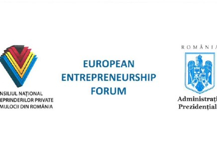 European Entrepreneurship Forum, 10th of April 2019,  Bucharest, Cotroceni Palace