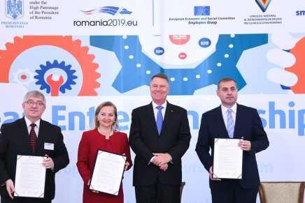 "European Entrepreneurship Forum: angajatorii solicita ""un nou orizont"" pentru IMM-uri"