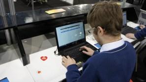 Daniel typing stuff.